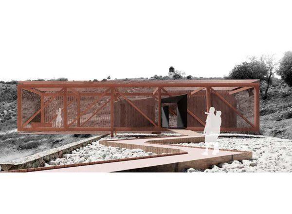 Parque Arqueológico Municipal : Puesto de Contraataque Número 8